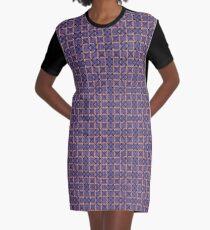 Plaid o2 Graphic T-Shirt Dress