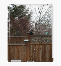 Squirrel On The Fence iPad Case/Skin