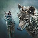 Wolves in Moonlight by Brian Tarr