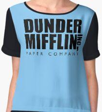 Dunder Mifflin Inc. Chiffon Top