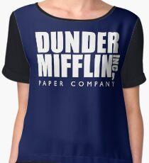 Dunder Mifflin Inc. Women's Chiffon Top