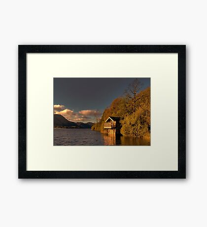 Ullswater Sunset Framed Print