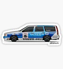 BTCC Volvo 850 TWR Wagon Race Car Sticker