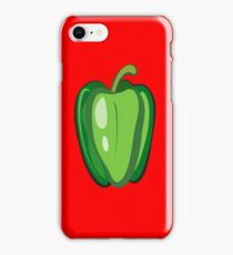 Green Pepper iPhone Case/Skin