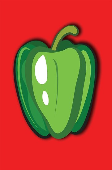 Green Pepper by iszi