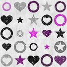 Ace Stars and Hearts by Deastrumquodvic