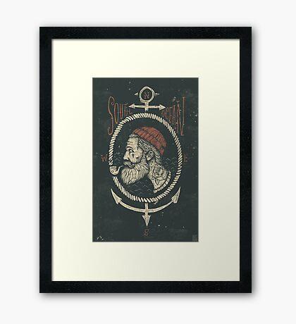 South Ocean Framed Print