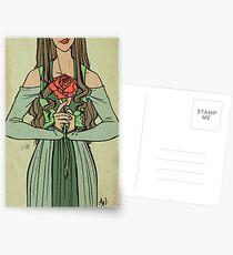 Rose Queen Postcards