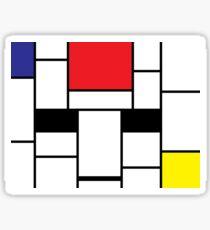 Mondrian Sticker