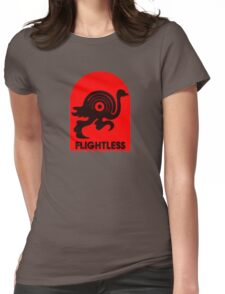 Flightless Records Tee Womens Fitted T-Shirt
