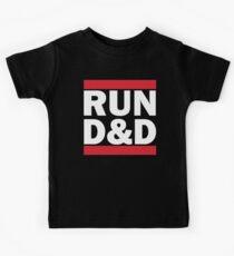 RUN D&D - classic Kids Tee