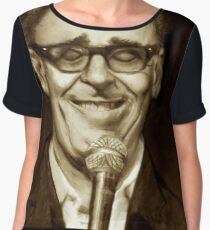 The Smartest Man In the World Women's Chiffon Top