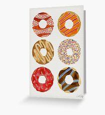 Half Dozen Donuts Greeting Card