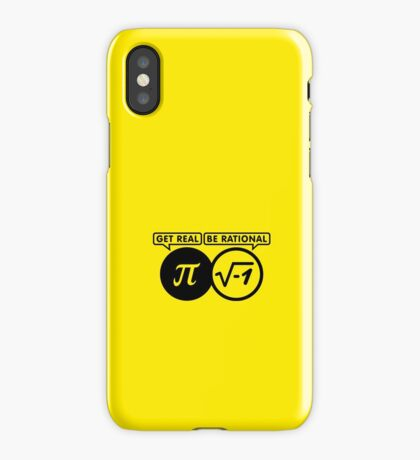 Get Real - Be Rational VRS2 iPhone Case