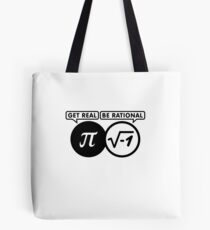 Get Real - Be Rational VRS2 Tote Bag