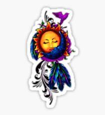 Sun and Moon Dreamcatcher Sticker