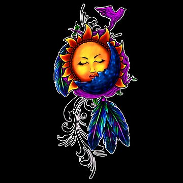 Sun and Moon Dreamcatcher by mikehite