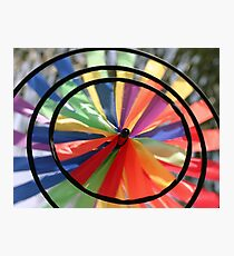 Wind Wheel Photographic Print