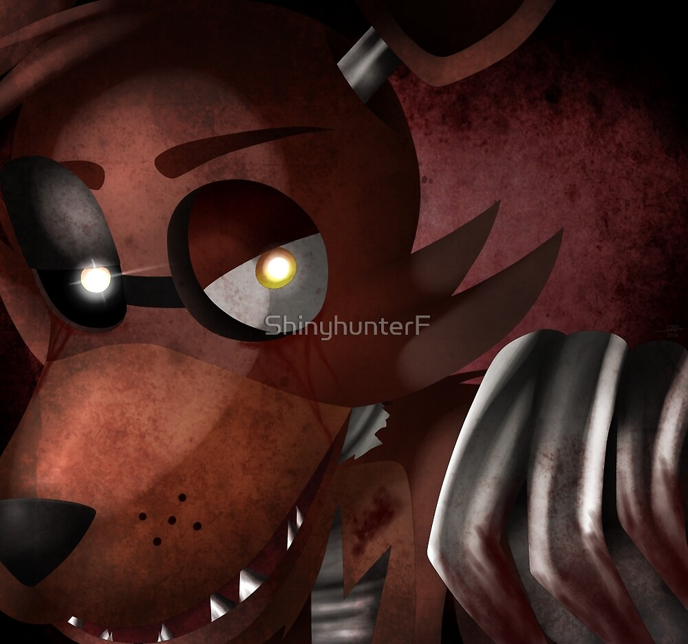 Foxy out of the Cove by ShinyhunterF