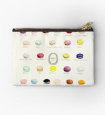 Laduree Macarons Flavor Menu Studio Pouch