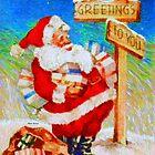 Santa is Ready by Rafael Salazar