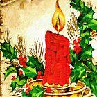 Christmas Candle by Rafael Salazar