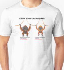 Know Your Orangutans T-Shirt