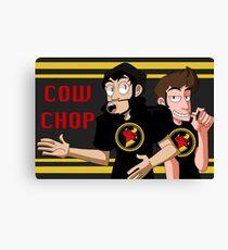 CowChop Duo Canvas Print