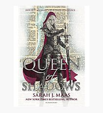 Queen of Shadows Photographic Print