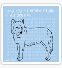 Loneliness Sticker