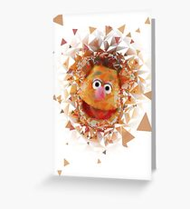Fozzie Bear Greeting Card