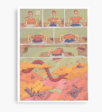 Inspiración Canvas Print