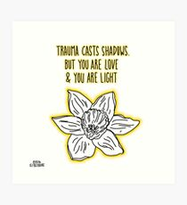 Love & Light Art Print
