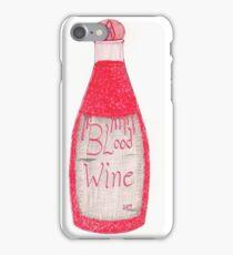 Vampire Wine iPhone Case/Skin