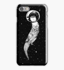 Drifting in Otter Space (best for color) iPhone Case/Skin
