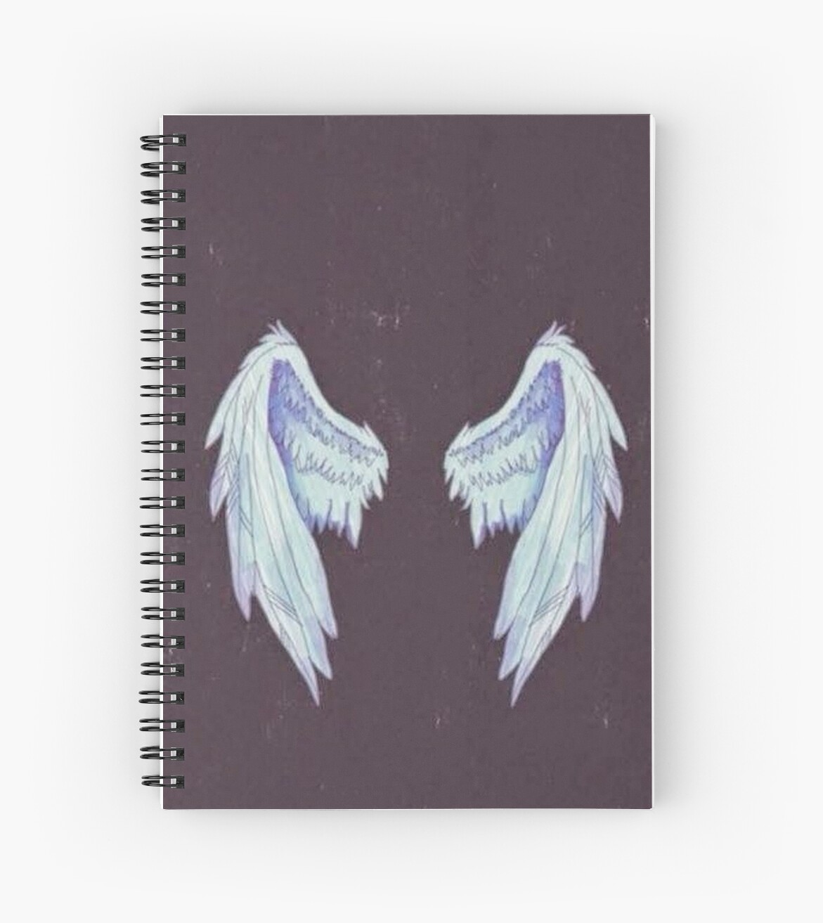 Tumblr Wings Spiral Notebooks By Ellelouise101 Redbubble