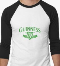 Guiness green Men's Baseball ¾ T-Shirt
