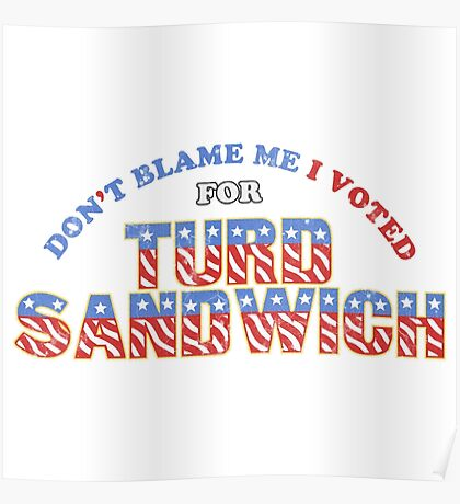 Don't Blame Me... Poster