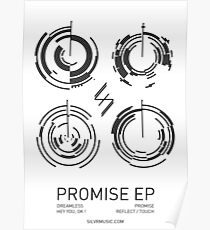 Silvr Promise EP Poster Poster
