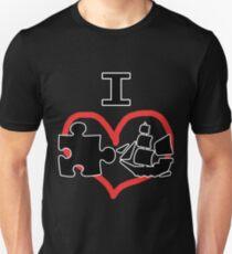 I Puzzle Ship  T-Shirt