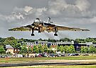 Vulcan To The Skies Landing - Farnborough 2014 by Colin  Williams Photography