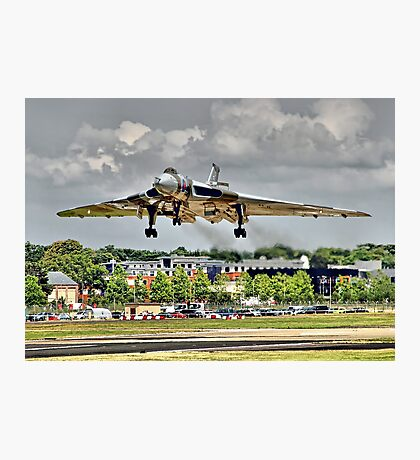 Vulcan To The Skies Landing - Farnborough 2014 Photographic Print