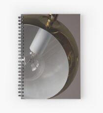 dumb lamp Spiral Notebook