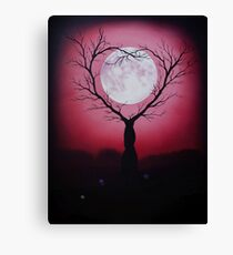 Eve of a Lover's Moon Canvas Print