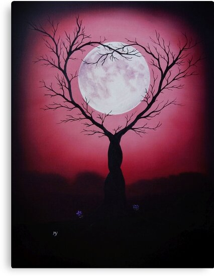 Eve of a Lover's Moon by MelanieJoy