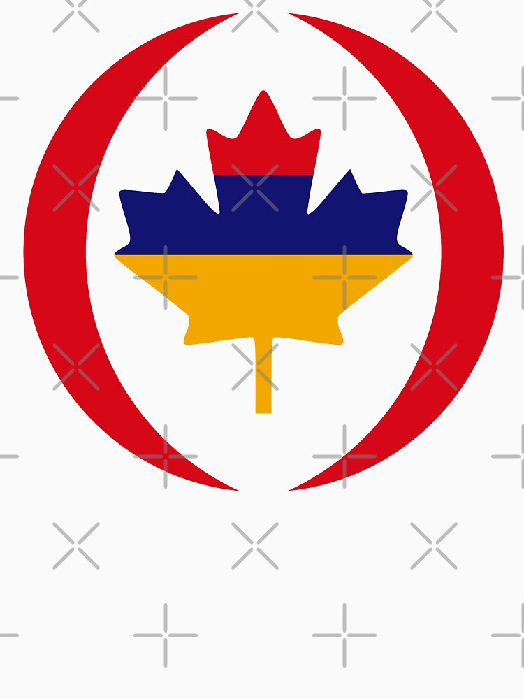 Armenian Canadian Multinational Patriot Flag Series by carbonfibreme