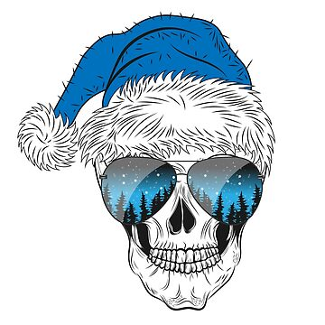 Christmas Skull by Fmgt