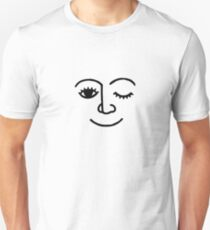 Smile and Wink Unisex T-Shirt