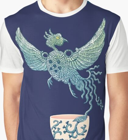 Phoenix Tea Graphic T-Shirt