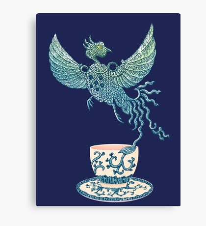 Phoenix Tea Canvas Print